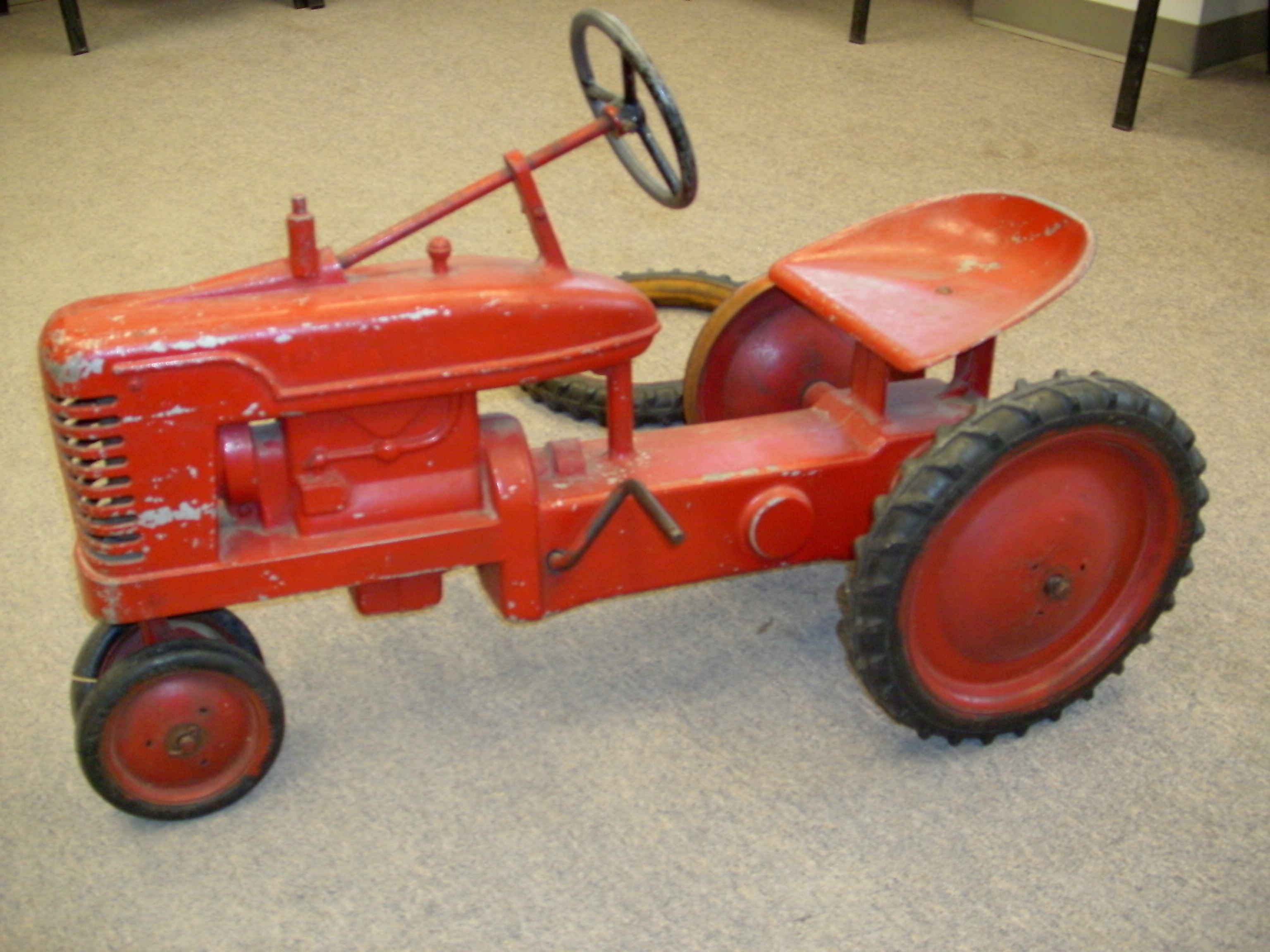 Tractor Pedal Car Parts : Pedal cars withrow s body shop